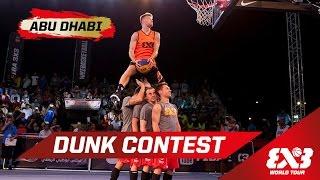 Epic Dunk Contest: 'Lipek' vs. J. Kilganon - Abu Dhabi - 2015 FIBA 3x3 World Tour Final