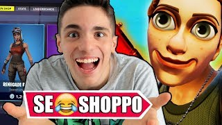 """IF I RETURN A SKIN on FORTNITE!! """"TRY NOT TO PAGE CHALLENGE"""" 99.9% IMPOSSIBILE!!"""