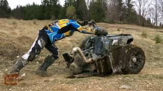 Quad ATV UTV CFmoto HTW Best Crashes Fails Compilation 2017