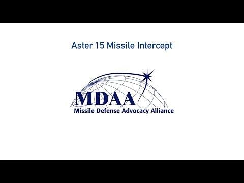 Aster 15 Missile Intercept