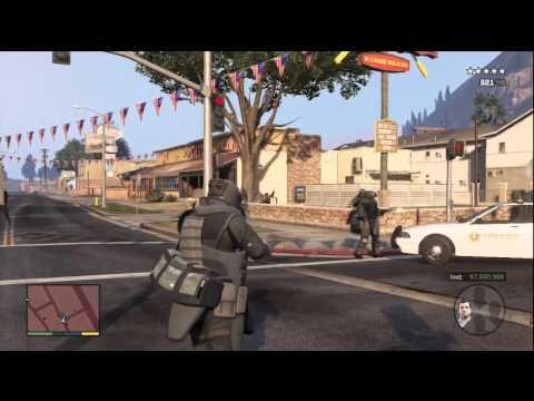 GTA 5 Story Mode #13 (The Heist)