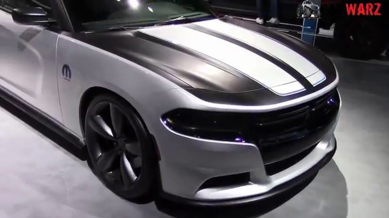 2016 Dodge Charger RT Mopar Deep Stage 3 At The 2016 NAIAS ...