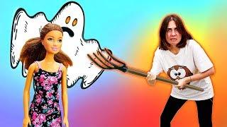 Разыграли учительницу - Смешное видео - Куклы Барби в школе. Я не хочу в школу 36