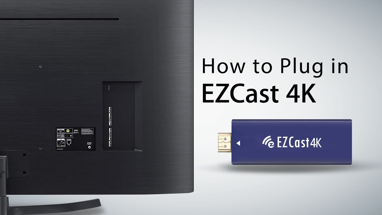 ezcast dongle how to use