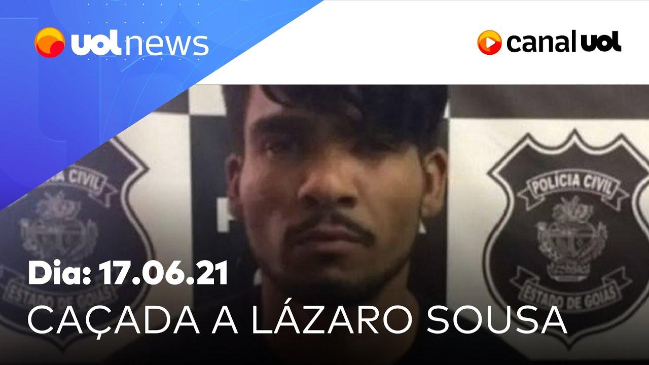 Download Caso Lázaro: policiais encontram colchão durante busca por serial killer   UOL News Noite (17/06/21)
