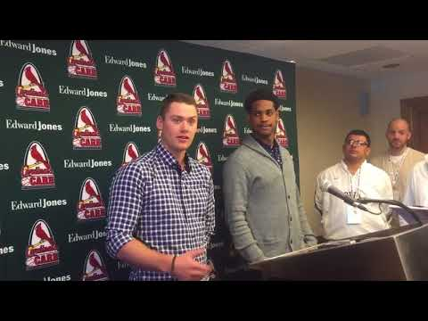Carson Kelly, Alex Reyes on best St. Louis Cardinals fastball
