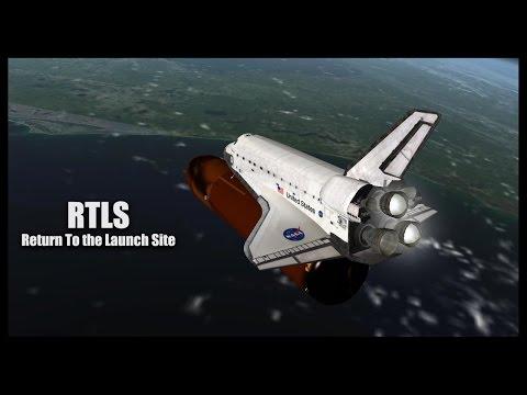 RTLS (Return To Launch Site) - Orbiter Space Flight Simulator 2010