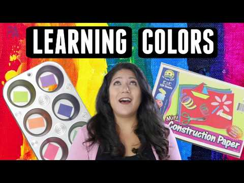 IDEAS For Teaching COLORS - Toddlers And Preschool Activities