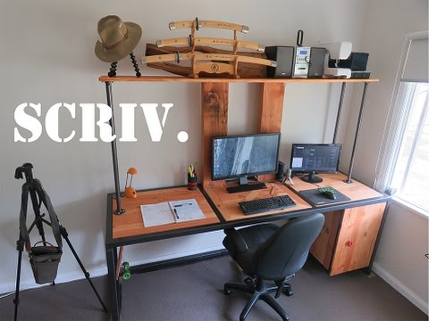 Making The ULTIMATE Computer Desk! Awesome Design