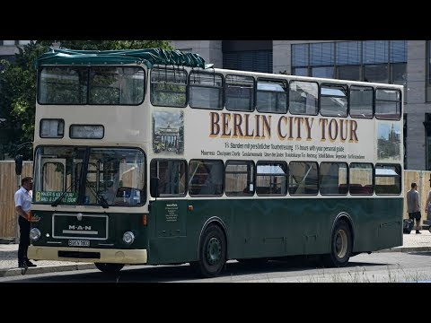 OMSI 2: MAN Waggon Union SD200 SD85 1985 Berlin Germany City Tour [3556] Linha 137/ Route 137