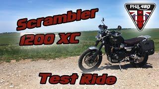 Triumph Scrambler 1200 XC Test Ride