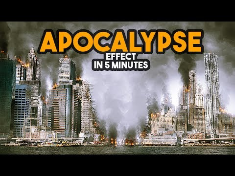 Apocalypse Effect in Photoshop tutorial