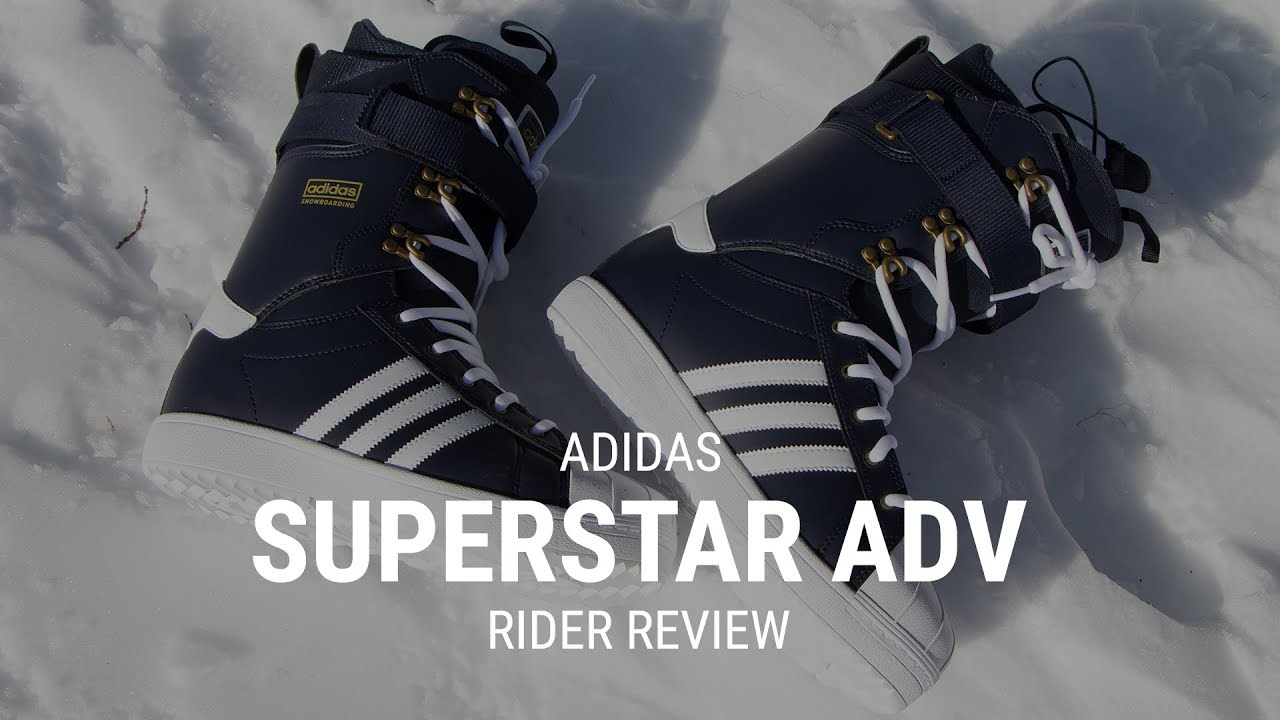 sale retailer 1b095 5c957 Adidas Superstar ADV 2019 Snowboard Boot Rider Review - Tactics.com