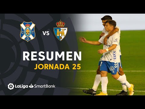 Tenerife Ponferradina Goals And Highlights