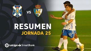 Resumen de CD Tenerife vs SD Ponferradina (1-0)