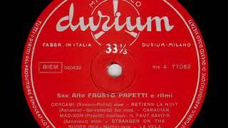 Fausto Papetti   Sax Alto e Ritmi n  3 12   Stranger on the shore