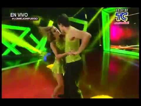 Soy el mejor  Show de baile de Claudia y Mario