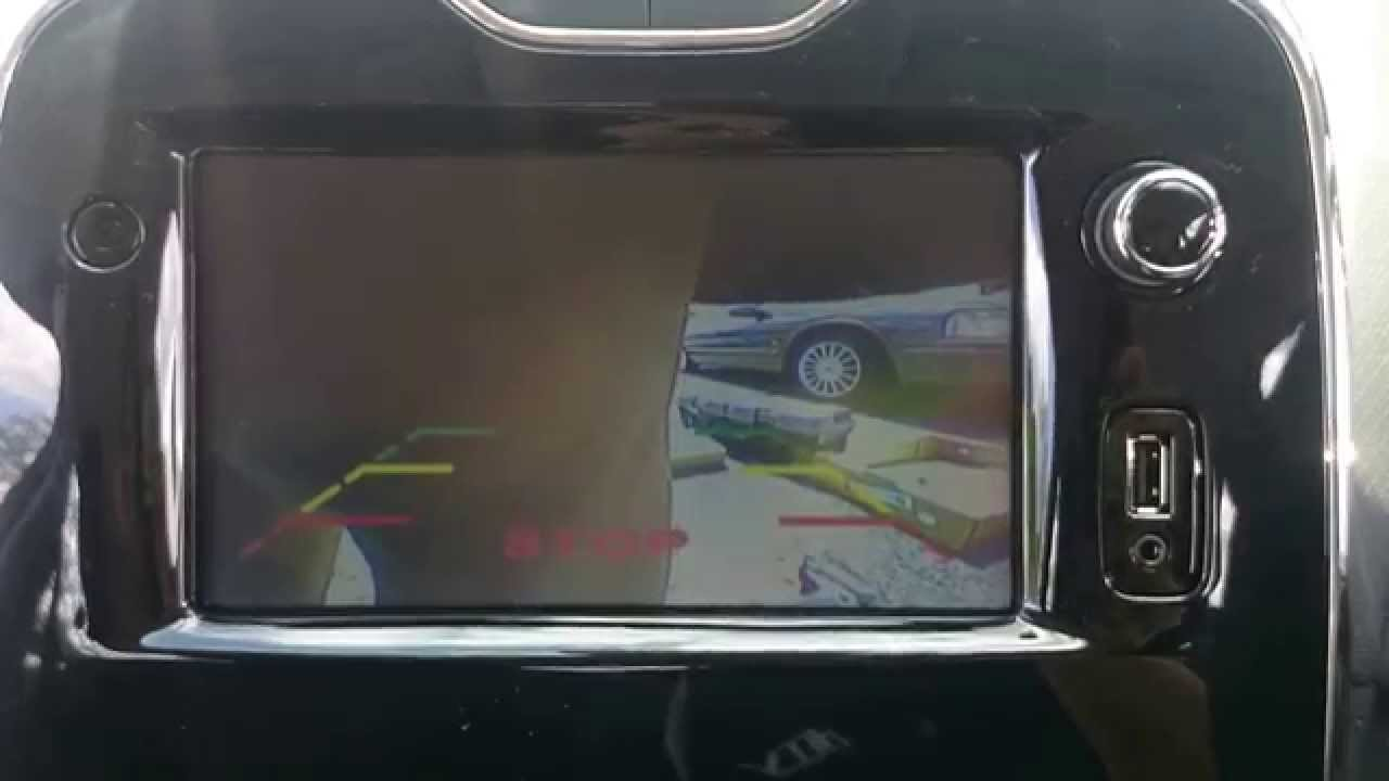 2014 renault clio reverse camera installation doovi. Black Bedroom Furniture Sets. Home Design Ideas