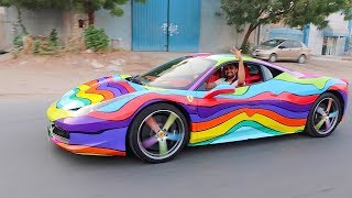 MY NEW CAR - 6ix9ine Ferrari !!!
