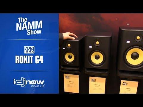 KRK Generation 4 Rokit Series Monitors Overview at NAMM 2019