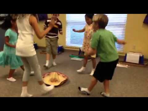 Mexican Hat Dance  Young Child