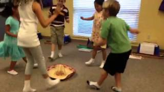 Mexican Hat Dance - Young Child