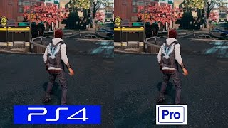 Infamous Second Son | PS4 VS PS4 PRO | GRAPHICS COMPARISON | Comparativa