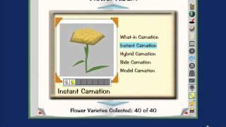 Toontown gardening flower combinations