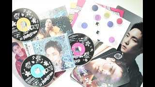 Unboxing Key's キー 1st Japanese Mini Album 'Hologram' [Regular+Limited Editions]