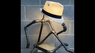 видео Необычные лампы - масляная лампа для дачи