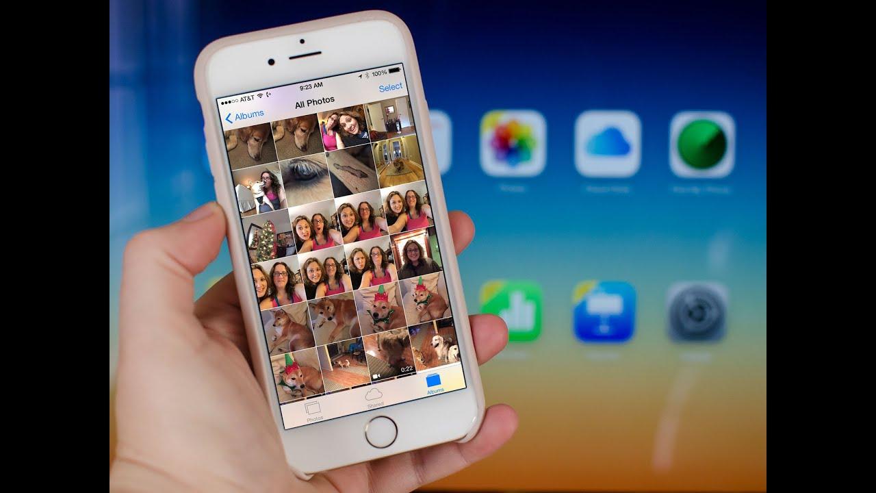 Загрузка фотографий с резервной копии iCloud - YouTube