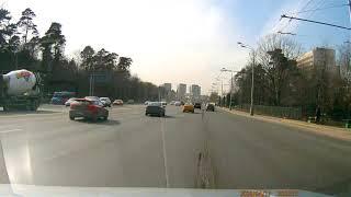 ДТП на Волоколамском шоссе 12.04.2018