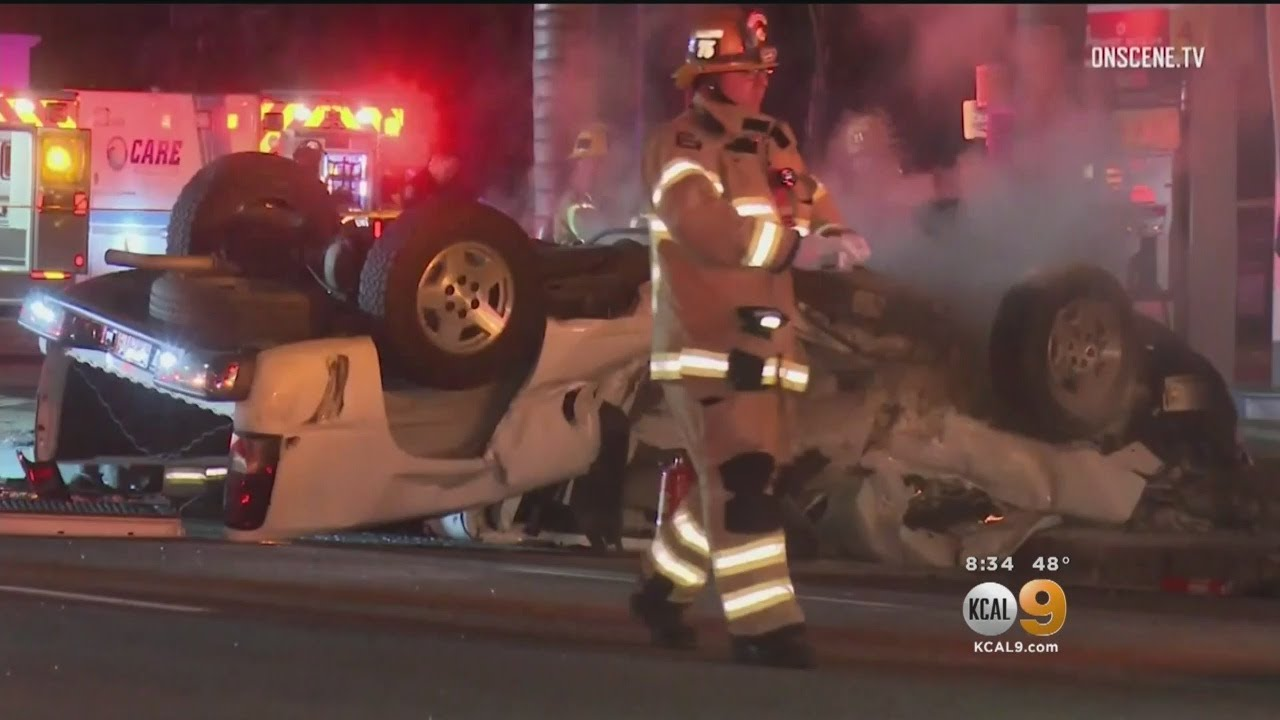 4 Killed In Suspected DUI Crash In Santa Ana