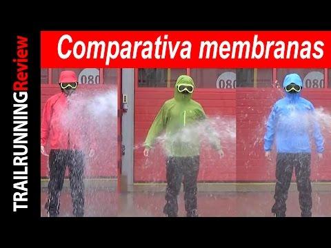Comparativa Polartec Neoshell VS Pertex Shield+ VS Gore-tex Active