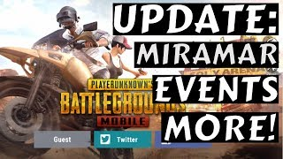 PUBG Mobile UPDATE: New MAP, SERVER, PROGRESS MISSIONS, EVENTS & SYNERGY SYSTEM!