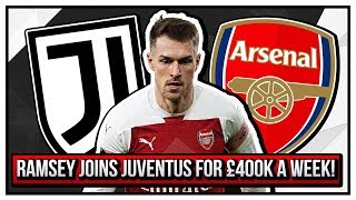 Ramsey Joins Juventus For £400k A Week! | How Arsenal Messed Up Yet Again