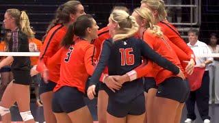 Illini Volleyball   Northern Iowa Highlights