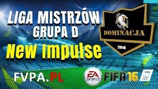 FIFA 16 | Dominacja vs. New Impulse | Liga Mistrzów - Grupa D - FVPA.pl (Wirtualne Kluby)