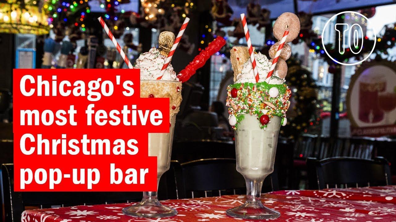 Santa Baby Christmas Bar is Chicago's wildest seasonal pop up