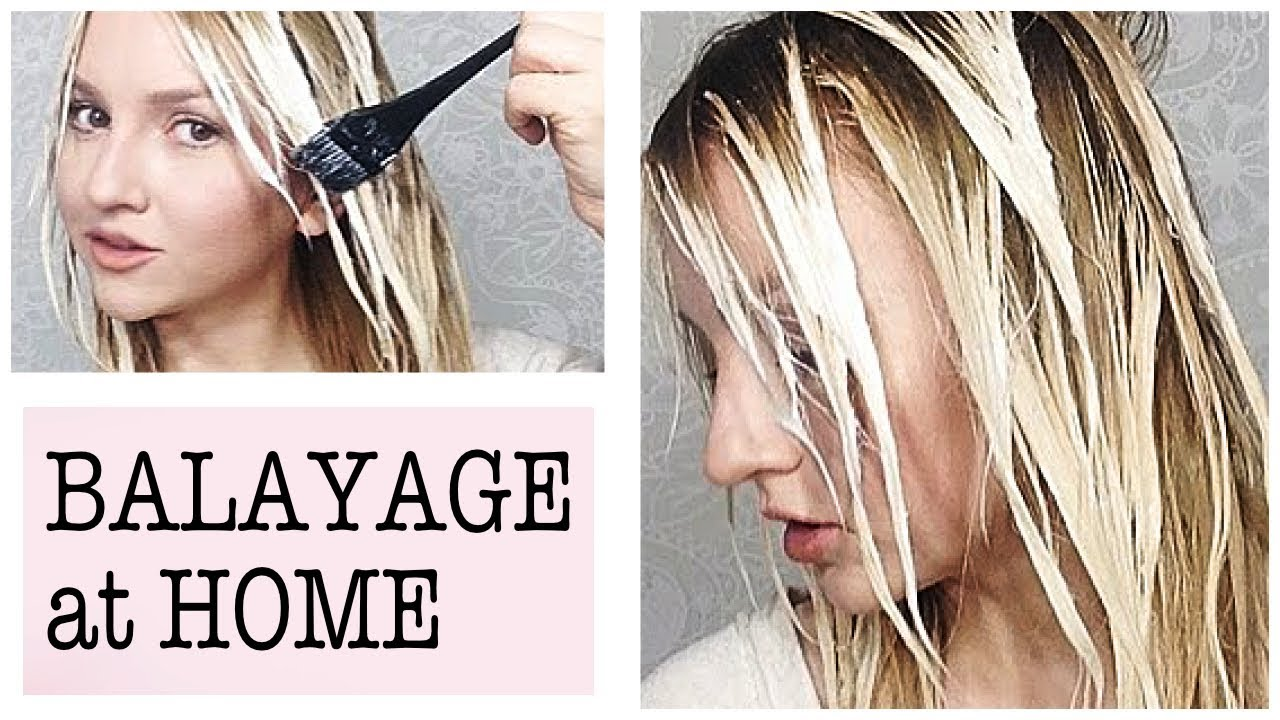 Balayage At Home How To