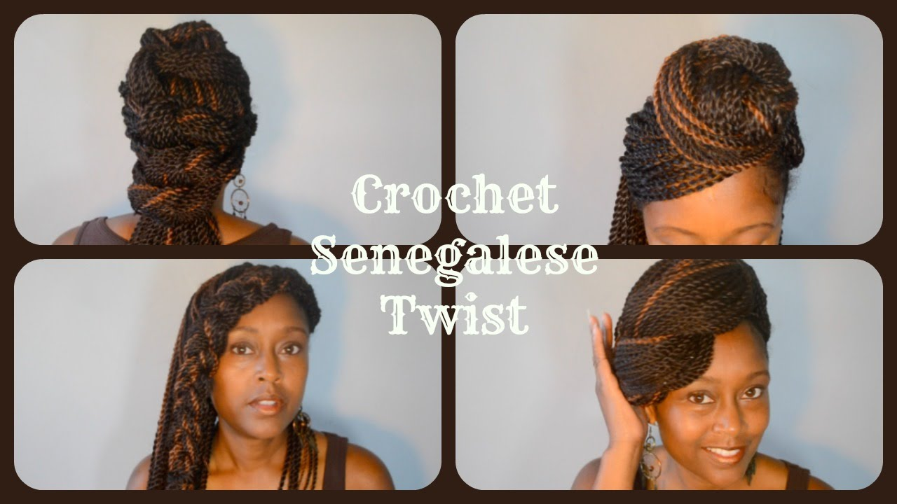 Crochet Senegalese Twist Styles You