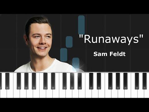 "Sam Feldt -""Runaways"" Ft Teemu Piano Tutorial - Chords - How To Play - Cover"