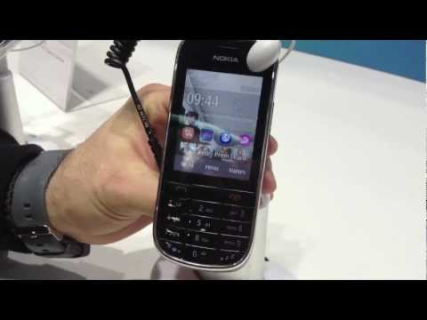 [MWC2012] Nokia Asha 202-203 hands on