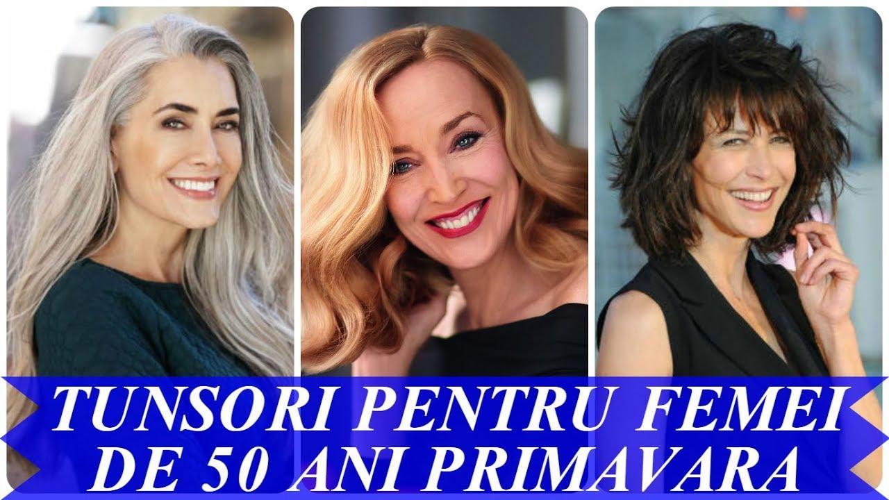 Tunsori Pentru Femei De 50 Ani Primavara 2018 Youtube