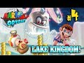 YOU WASTED MY COINS ON A STICKER!!!  LAKE KINGDOM Super Mario Odyssey #4