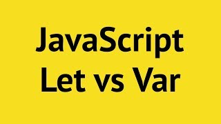 JavaScript Let vs Var vs Constant | Mosh