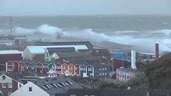 Orkan auf Helgoland - 28. Oktober 2013 - 191 km/h - hurricane - ouragan