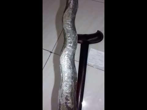 keris omyang jimbe asli  bertuliskan jawa kuno di tawar 350 juta ( Indonesian antiques from java ) )