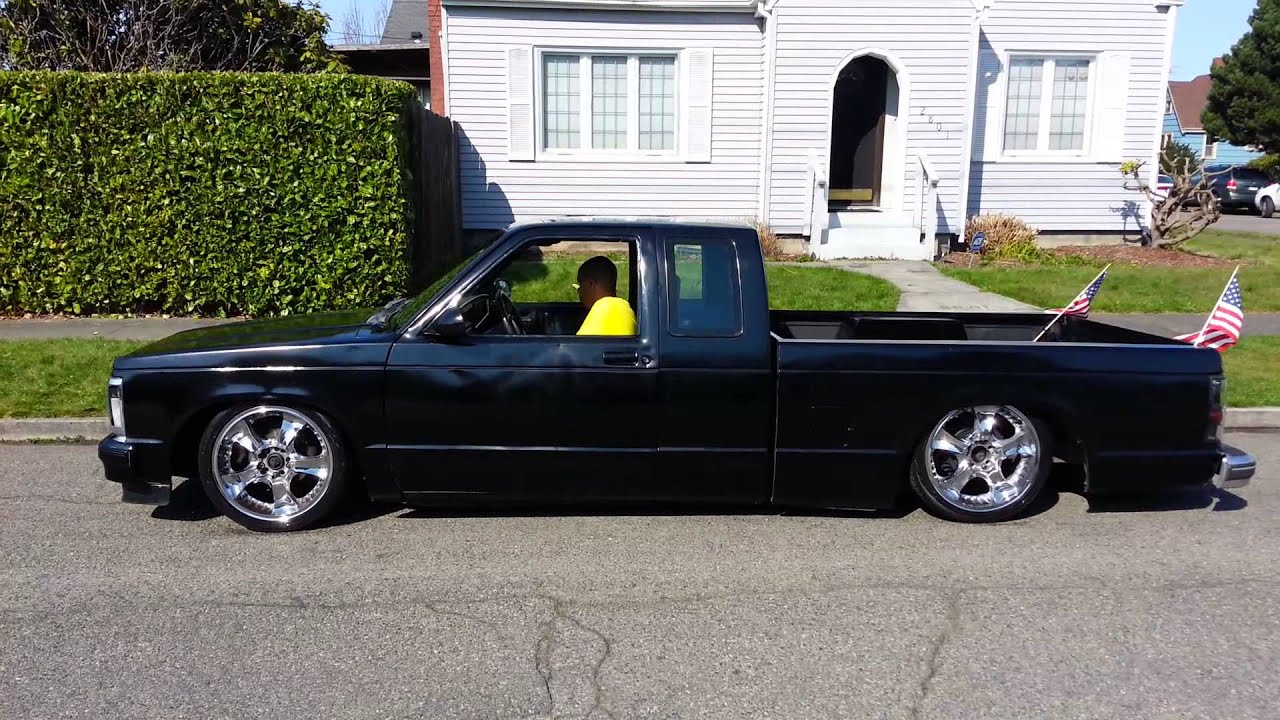 Bagged 1983 s10 quick air down