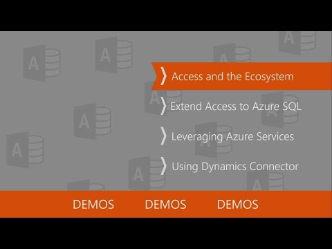 Learn new ways to apply Access to the modern Microsoft ecosystem - BRK3078